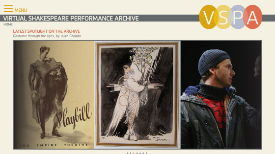 Virtual Shakespeare Performance Archive